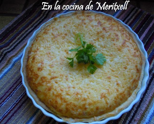 En la cocina de Meritxell: Quiche de pollo y champiñones