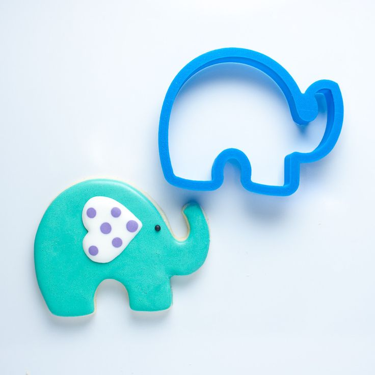 Elephant Cookie Cutter - Frosted.co