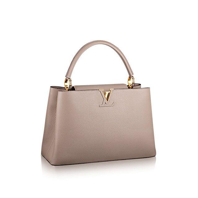 Louis Vuitton Capucine Coquelicot Leather Tote Bag, 2014