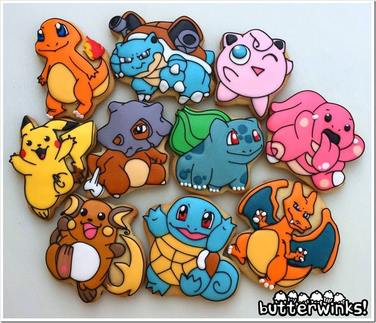 Cartoon Character Design For Cake : Butterwinks makes one sweet cookie sugar cookies
