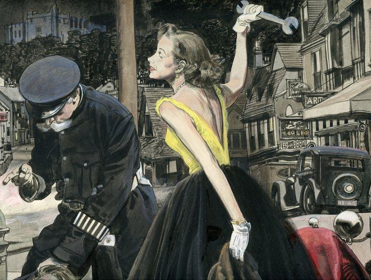 Robert Fawcett   #retroart #art #illustration