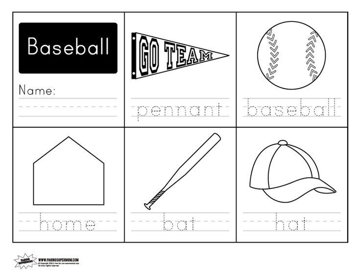 baseball handwriting free worksheet ot worksheets handwriting worksheets handwriting. Black Bedroom Furniture Sets. Home Design Ideas