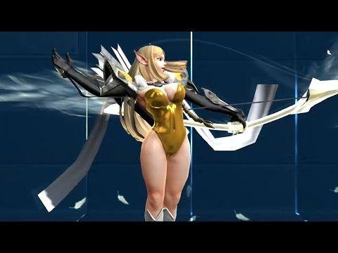 [하이퍼유니버스] 여자 캐릭터 바스트모핑 (HyperUniverse) - YouTube