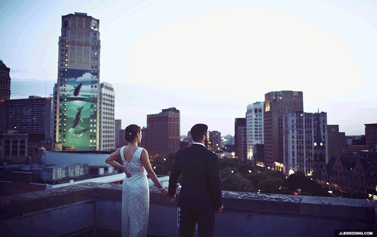 42 Impossibly Fun Wedding Photo Ideas You'll Want To Steal; seen a lot of these already but the city one and the note one have a special place in my heart