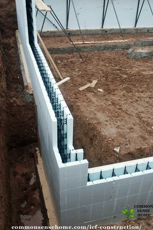 Icf Construction What You Need To Know About An Icf Home Basement Construction Icf Home Building Foundation