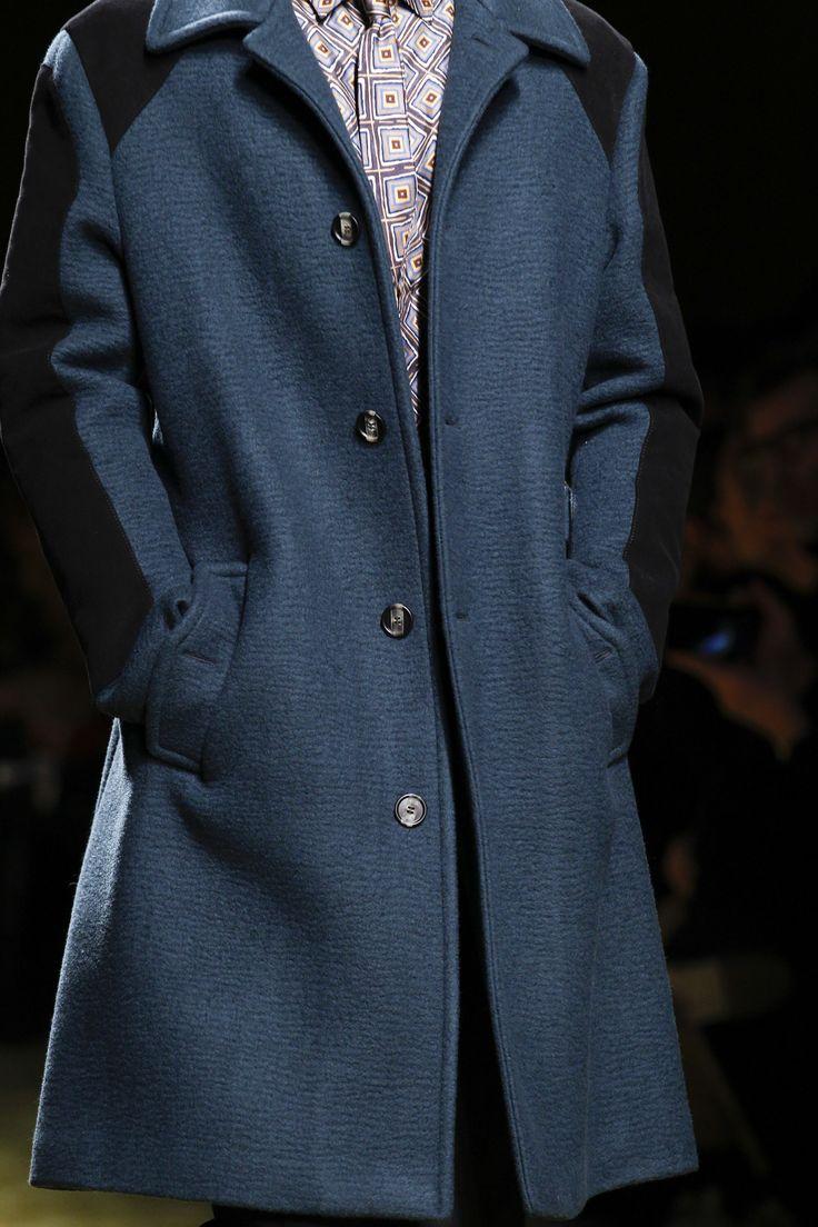 Salvatore Ferragamo Fall 2016 Menswear Fashion Show Details
