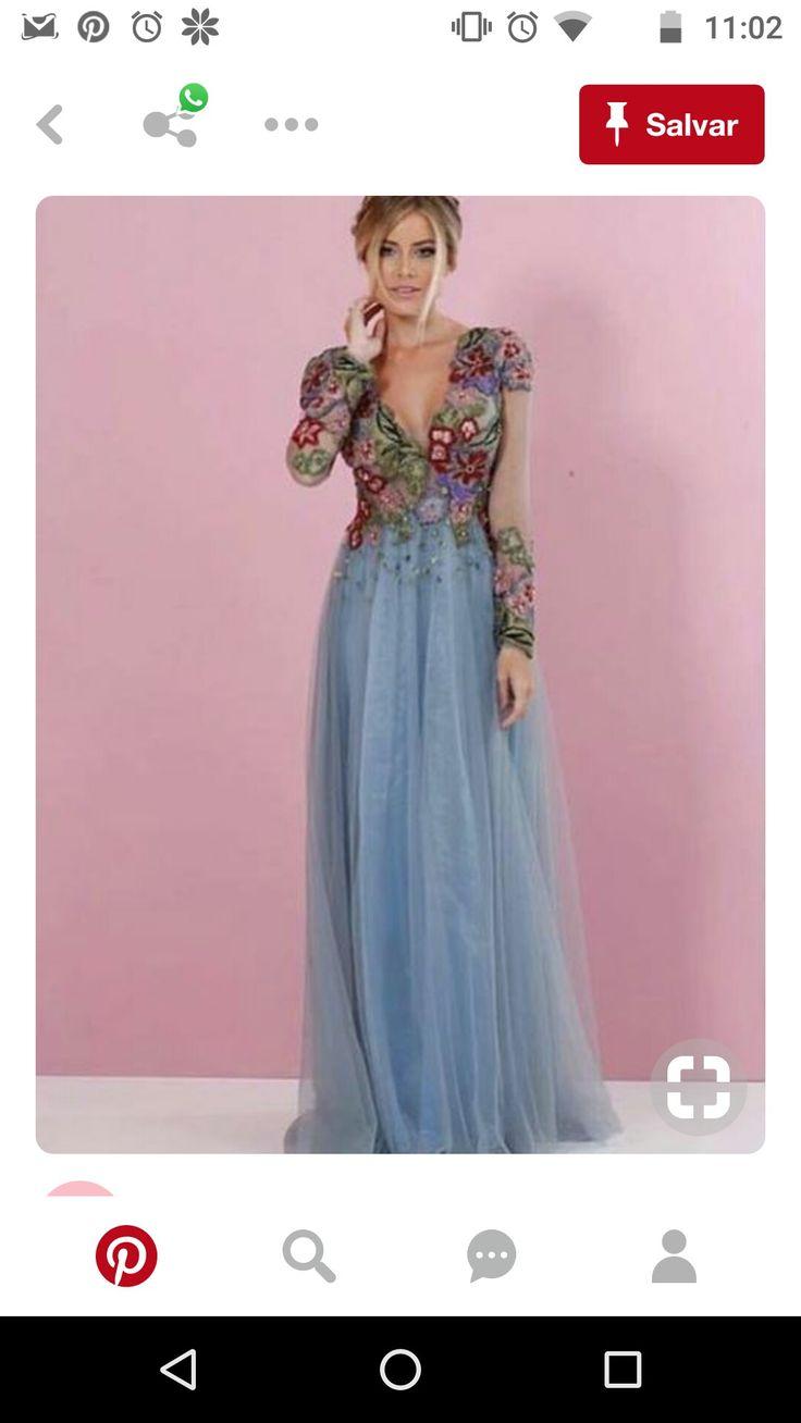 35 mejores imágenes de vestido elida en Pinterest   Vestidos de ...