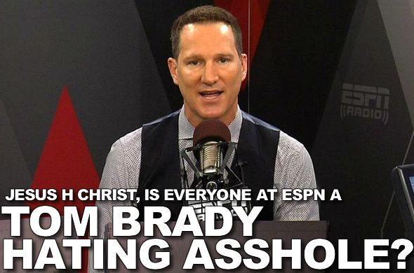"""Masshole Sports: ESPN'S Danny Kanell Thinks The Broncos Should Hit Tom Brady Late And """"Send A Message."""" I Think He Should STFU."""