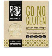 Gerry's Wraps 'Go No Gluten', gluten-free wraps