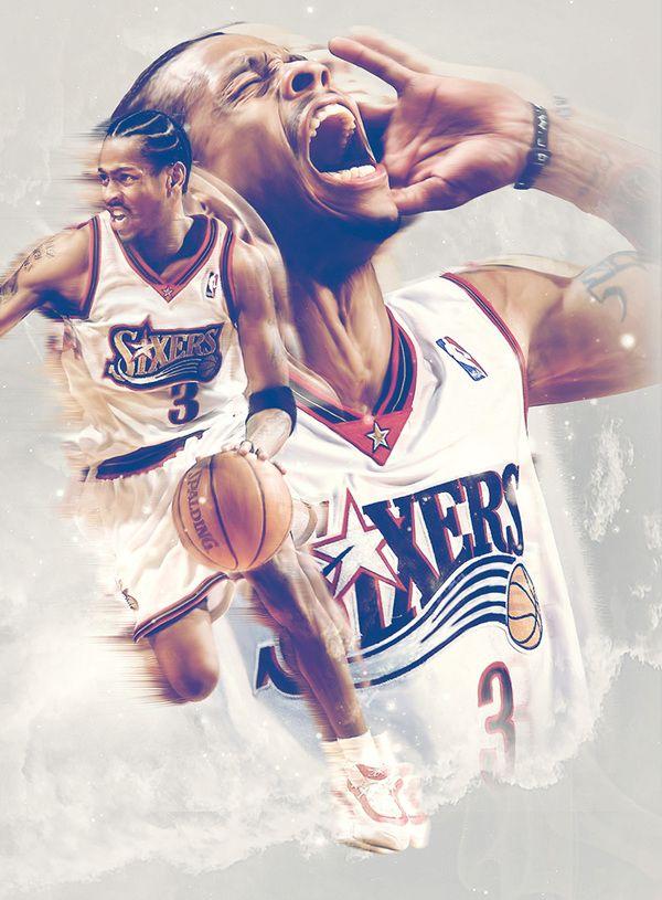Basketball Magazine - Editiorial by Caroline Blanchet, via Behance