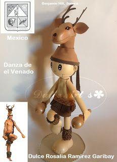Dulce Art's: DANZA DEL VENADO FOFUCHO SONORENSE