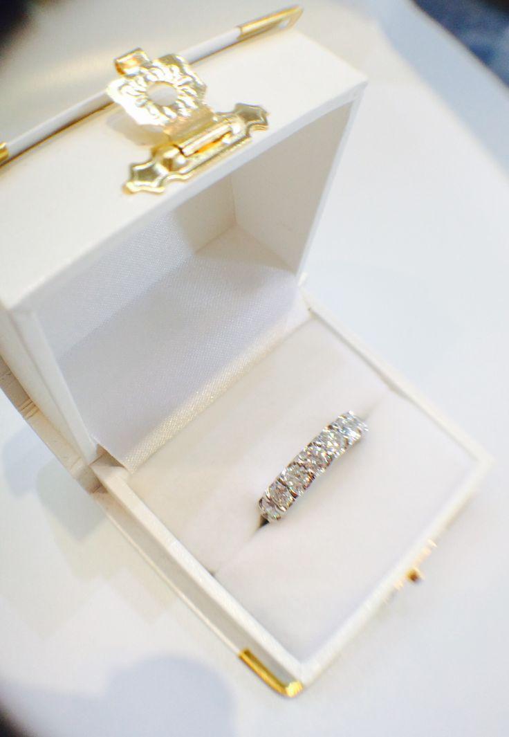 Say yes!!!  Diamond eternity ring