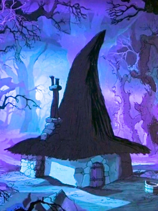 Mad Madame Mim's Lair - Sword In The Stone. I absolutely love this film!