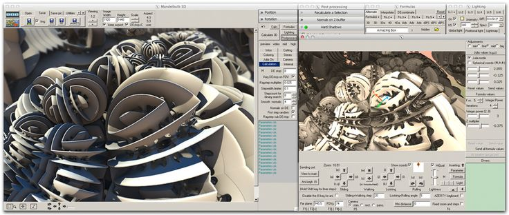 Mandelbulb 3D is a free software application created for 3D fractal imaging (win/mac)