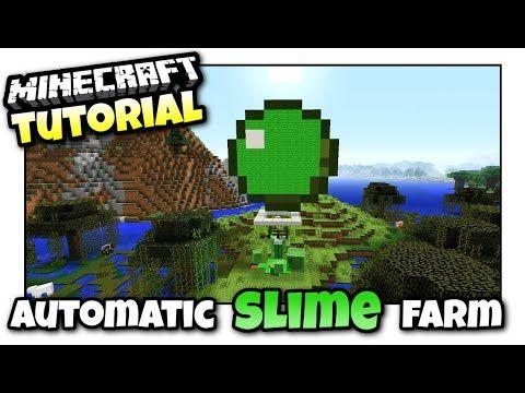 Les 25 meilleures ides de la catgorie slime farm sur pinterest minecraft automatic slime farm mini tutorial xbox ps4 mcpe ccuart Choice Image