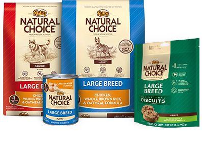 NUTRO® NATURAL CHOICE® Large Breed Dog Food
