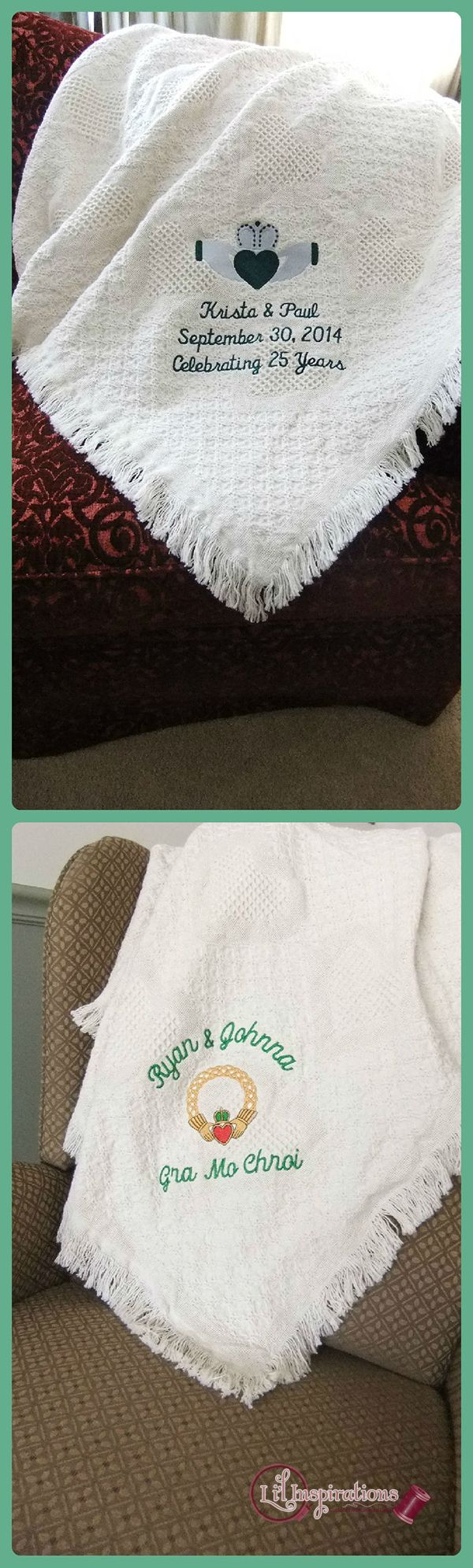 irish wedding wedding fun knitting blankets irish decor souvenir ideas ...