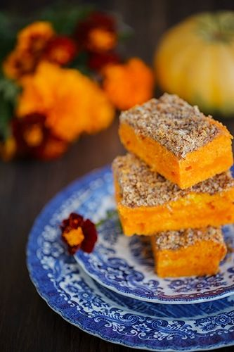 Тыквенный пирог с орехами - в поисках ВКУСОВЫХ ощущений......