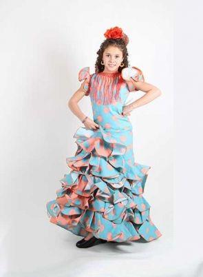 Vestido Flamenca Niña 104