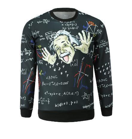 Jual Sweatshirt Pria Einstein Buruan Ada Diskon