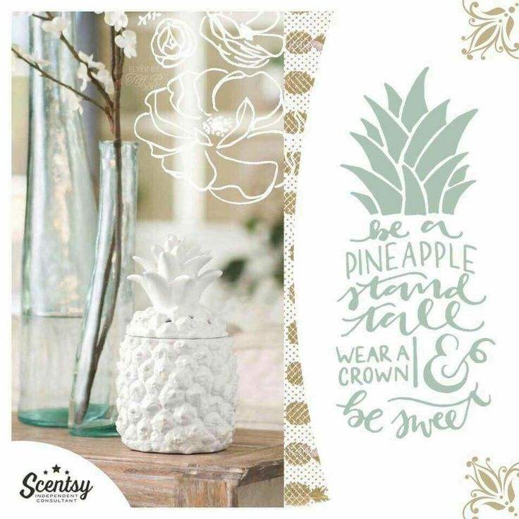 The southern hospitality warmer! Pineapple symbolize a welcome reception in the American South, making this fresh, modern peace a shoo-in for Center Stage.