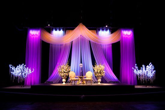 Glamorous wedding backdrops beautiful wedding and for American wedding stage decoration