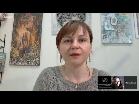 "#МК Наталья Жукова mixed-media ""Кофе и бирюза"". Ручная работа"