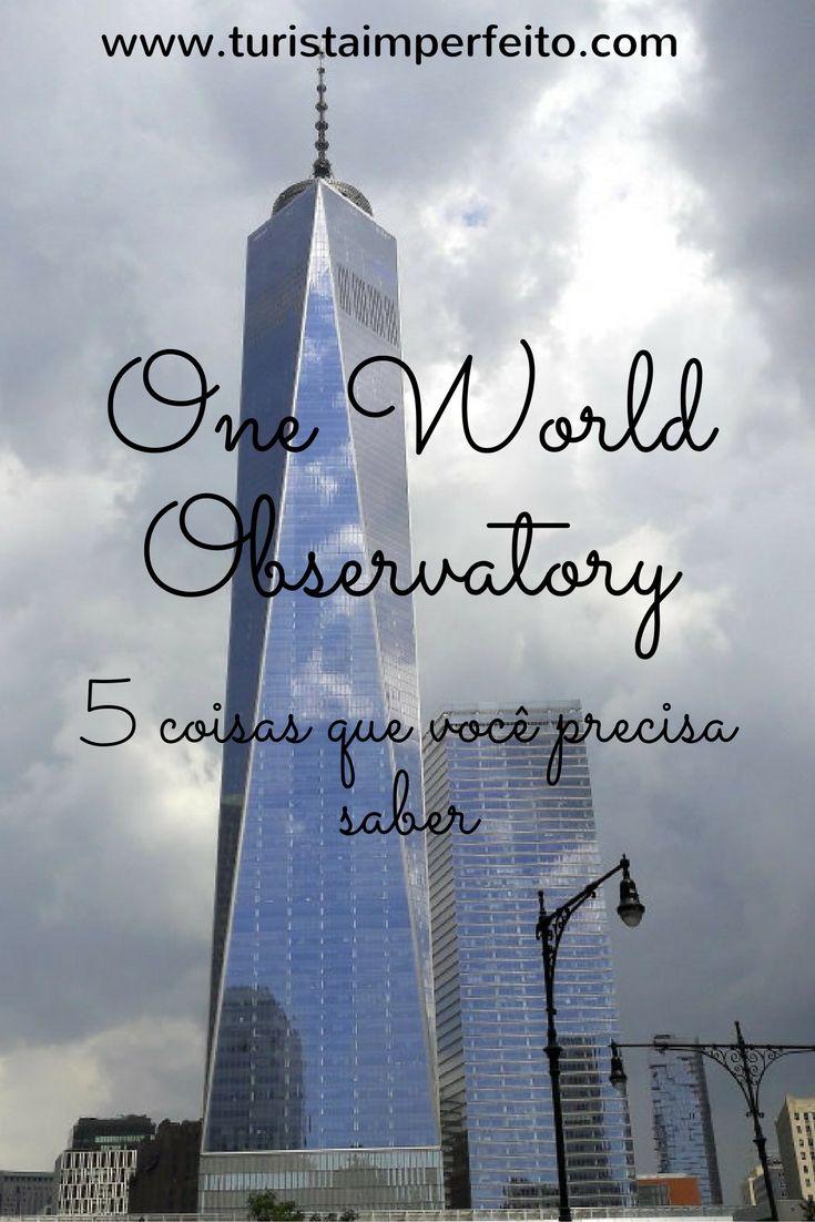 Prós e contras da vista panorâmica que ficou no lugar das Torres Gêmeas #novayork #oneworldobservatory