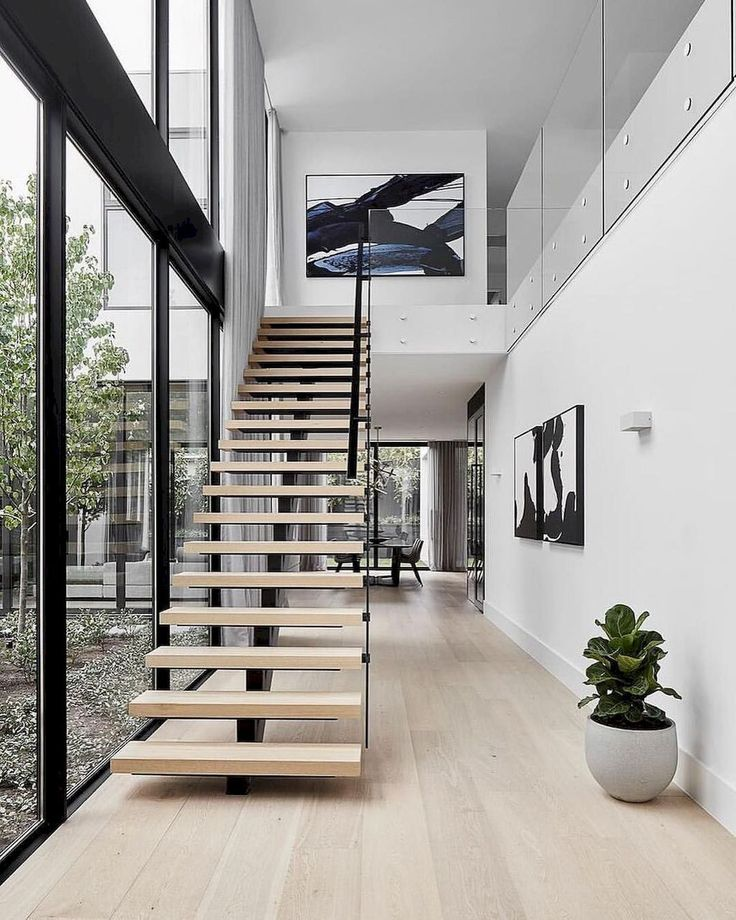Unbelievable The Beautiful Staircase Decor Of The House