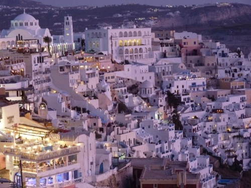 Santorini, Greece-I think I could just hang out on the Mediterranean for months