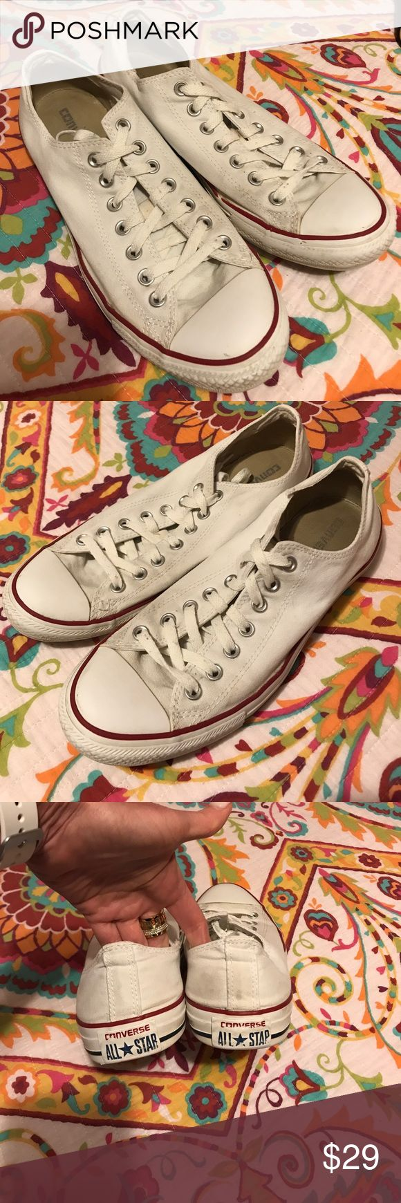 Converse All Stars size 10 Men's Gently Loved Men's Converse All Star in size 10,  classic go to shoe Converse Shoes Sneakers