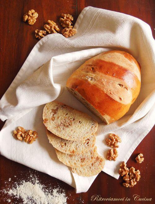 Pane Bianco (Morbido) con le Noci