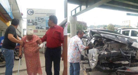 En Poza Rica lesionan a una abuelita en choque - http://www.esnoticiaveracruz.com/en-poza-rica-lesionan-a-una-abuelita-en-choque/