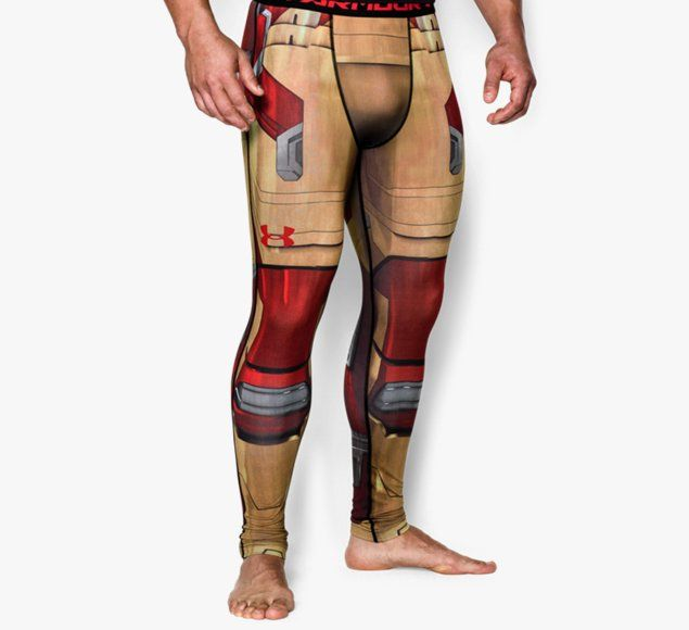 Legging Under Armour™ Transform Yourself Iron Man Compression pour homme
