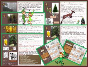 LECTURE atelier en autonomie : Les arbres CE1 /CE2