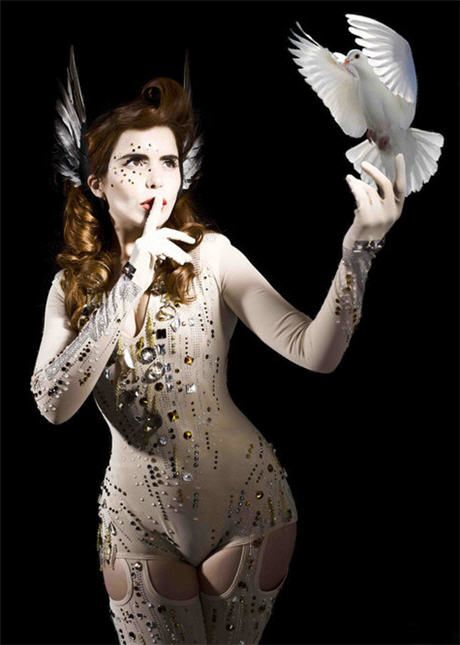 Paloma Faith. I'm borderline obsessed with Paloma Faith.