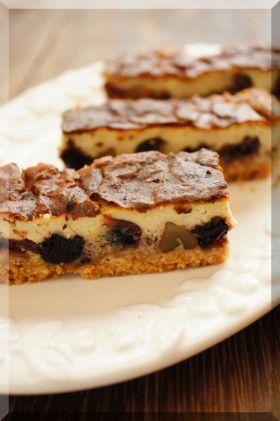 「【クルミ】*ブルーチーズのチーズケーキ♪」cherry♪ | お菓子・パンのレシピや作り方【corecle*コレクル】