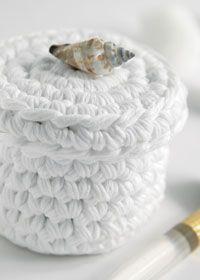 Crochet Basket, Free pattern,