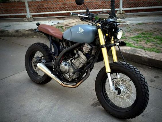 Honda Crf 250 ข ามสายพ นธ Tld Dream Board Scrambler And Motorcycle
