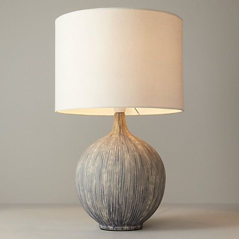 Buy John Lewis Ebony Table Lamp Online at johnlewis.com                                                                                                                                                      More