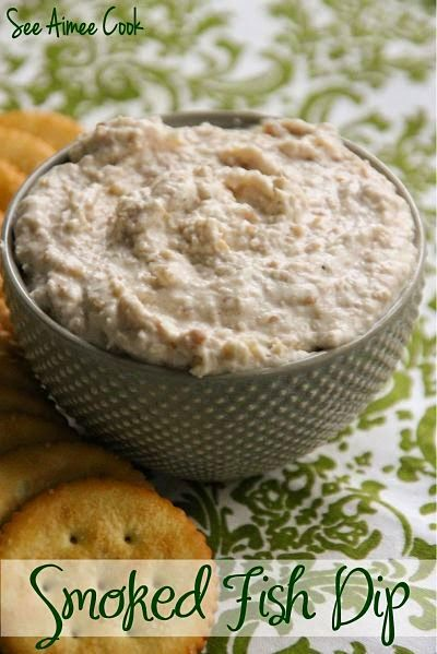 Smoked Fish Dip | tastes just like the dip served at your favorite seafood restaurant! This easy dip takes just minutes to make, and will be devoured in even less! | See Aimee Cook