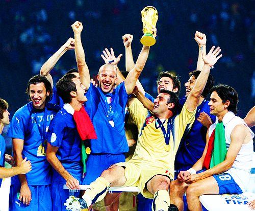 Italy, Azzurra, World Cup 2006
