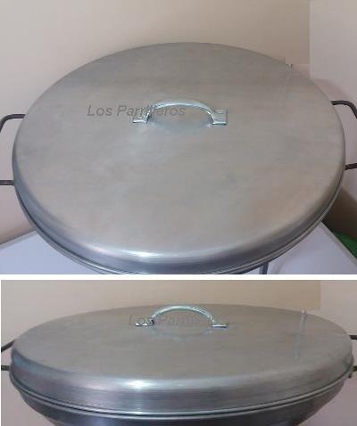 Tapa para Disco Asado de 53 cm diámetro   www.losparrilleros.cl