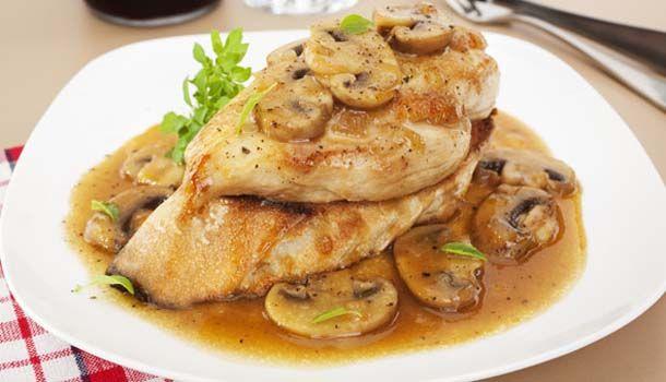 Κοτόπουλο Marsala