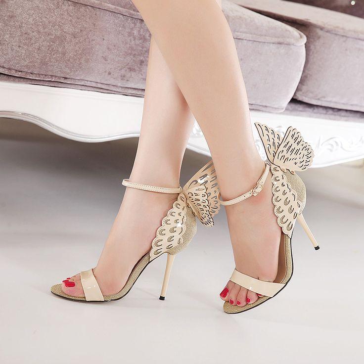 Butterfly Heels //Price: $0.00 & FREE Shipping //     #fashion #urbanpinup #picoftheday