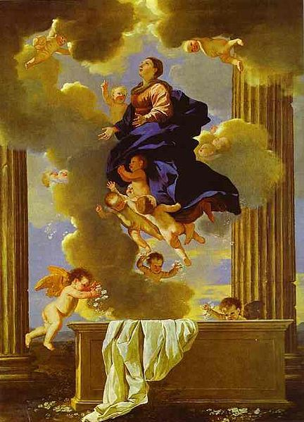 Assumption of the Virgin by Nicolas Poussin (1630-1632)