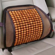 2017 Car Detector Seat Supports Luxury Wooden Bead Seat Back Lumbar Support Cushion For Car Office Chair Pillow Massager //Price: $US $16.73 & FREE Shipping //