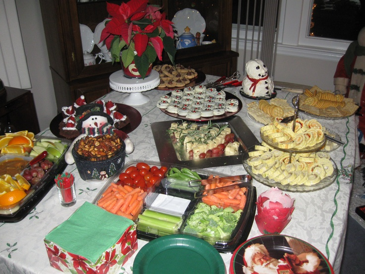 Appetizer table christmas ideas pinterest appetizers for Table cuisine en pin