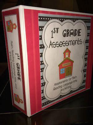 Mrs. Terhune's First Grade Site!: First Grade Report Card Assessments