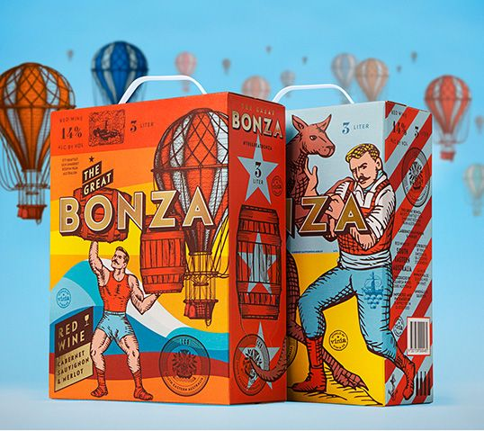 The Great Bonza - Australian boxed wine  sc 1 st  Pinterest & 33 best Australian packaging images on Pinterest | Wine labels ... Aboutintivar.Com